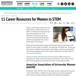 STEM Career Resources for Women