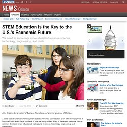 STEM Education Is the Key to the U.S.'s Economic Future