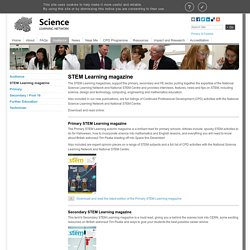 STEM Learning magazine