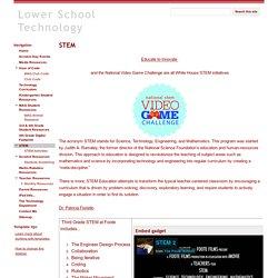 STEM - Lower School Technology