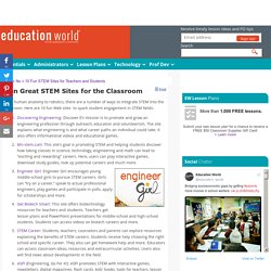 10 Fun STEM Sites for Teachers and Students