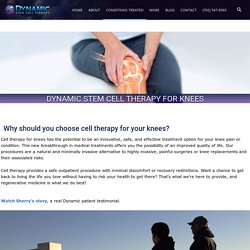 Stem Cell Therapy for Knees & PRP