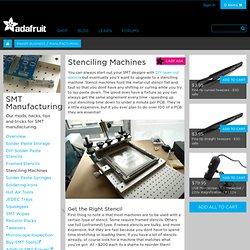 stenciling machine