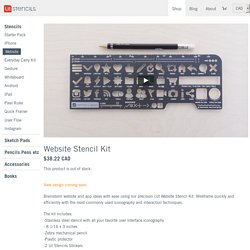 Website Stencil Kit