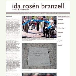 Stenpoesi - Ida Branzell Rosen