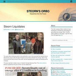 Steorn Liquidates