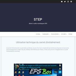 EPSBox - Carnet de suivi d'entraînement en STEP