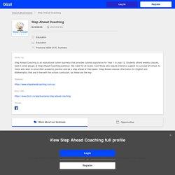 Step Ahead Coaching on bizzi