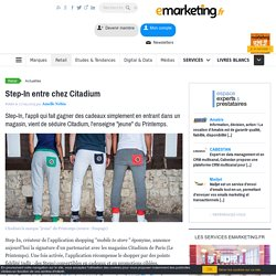 Step-In entre chez Citadium