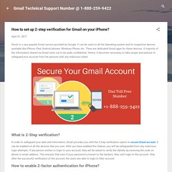 How to set up 2-step verification for Gmail on your iPhone?
