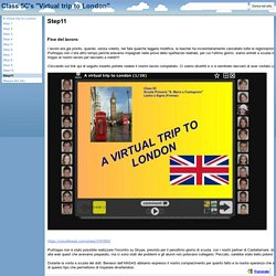 "Step11 - Class 5C's ""Virtual trip to London"""