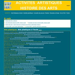 stepfan - Arts Visuels à l'école primaire : sites de ressources, fiches ...