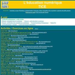 stepfan - les TICE à l'école primaire : sites de ressources, fiches ...