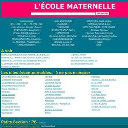 sites pour l'école Maternelle