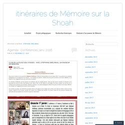 itinéraires de Mémoire sur la Shoah