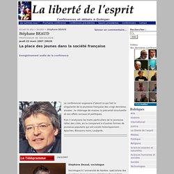 Stéphane BEAUD - La liberté de l'esprit