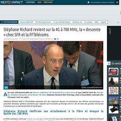 Stéphane Richard revient sur la 4G à 700 MHz, la « descente » chez SFR et la FFTélécoms