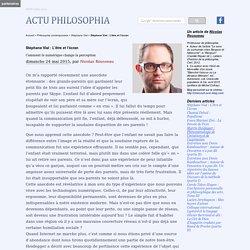 Stéphane Vial : L'être et l'écran