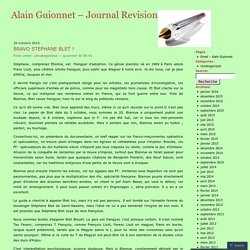 Alain Guionnet - Journal Revision
