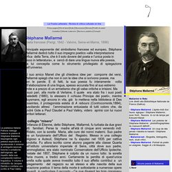 Stéphane Mallarmé - Biografia e opere