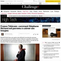 France Télécom : comment Stéphane Richard est parvenu à calmer ses troupes - 10 novembre 2011