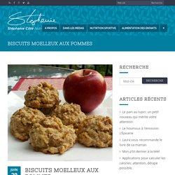 Biscuits moelleux aux pommes - Stéphanie Côté Nutritionniste
