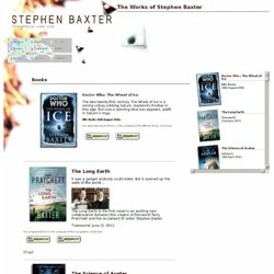 Stephen Baxter: Books