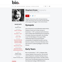 Stephen Crane Biography