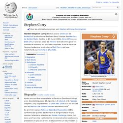 tom imbert ma start preferer Stephen Curry