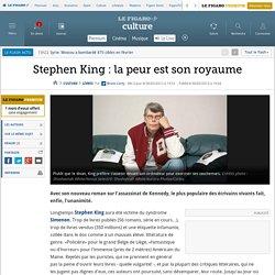 Stephen King: la peur est son royaume