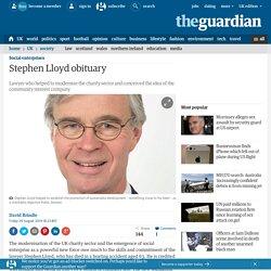 Stephen Lloyd obituary