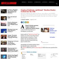 Stephen Paddocks 'girlfriend' Marilou Danley worked for the FBI