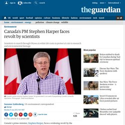 Canada's PM Stephen Harper faces revolt by scientists