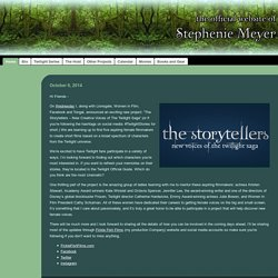 StephenieMeyer.com | The Official Website of Stephenie Meyer
