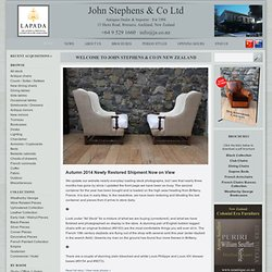 John Stephens Antiques - Buying from the best Antique Furniture Website in New Zealand