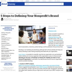 5 Steps to Define a Nonprofit's Brand