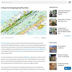6 Steps for Designing Healthy Cities