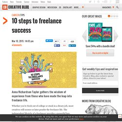 10 steps to freelance success
