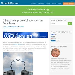 7 Steps to Improve Collaboration on Your Team