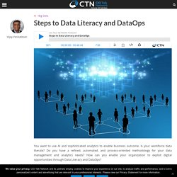 Steps to Data Literacy and DataOps