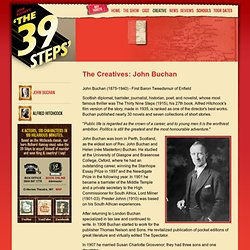 The 39 Steps - Official Site: John Buchan