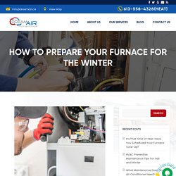 Steps to Prepare Your Furnace For the Winter