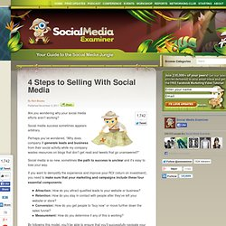 4 Steps to Selling With Social Media