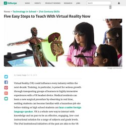 Five Easy Steps to Teach With Virtual Reality Now