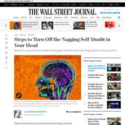 Steps to Turn Off the Nagging Self-Doubt in Your Head