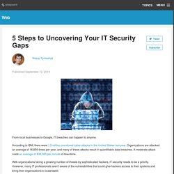 5 Steps to Uncovering Your IT Security Gaps