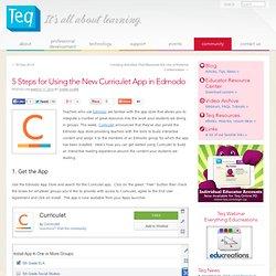 5 Steps for Using the New Curriculet App in Edmodo