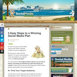 5 Easy Steps to a Winning Social Media Plan
