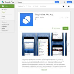StepStone Job App - Android Market