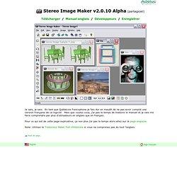 Stereo Image Maker v2.0.